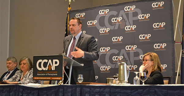 Jonathan Marks speaking at CCAP
