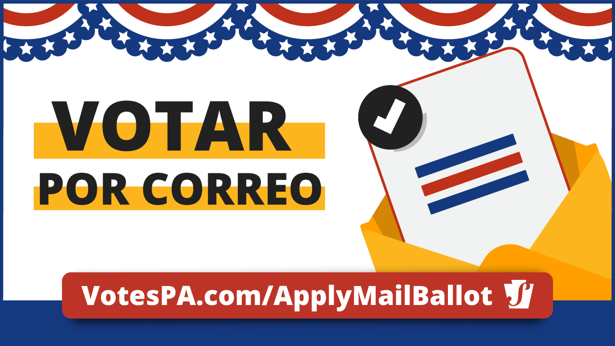 vote by mail-in spanish