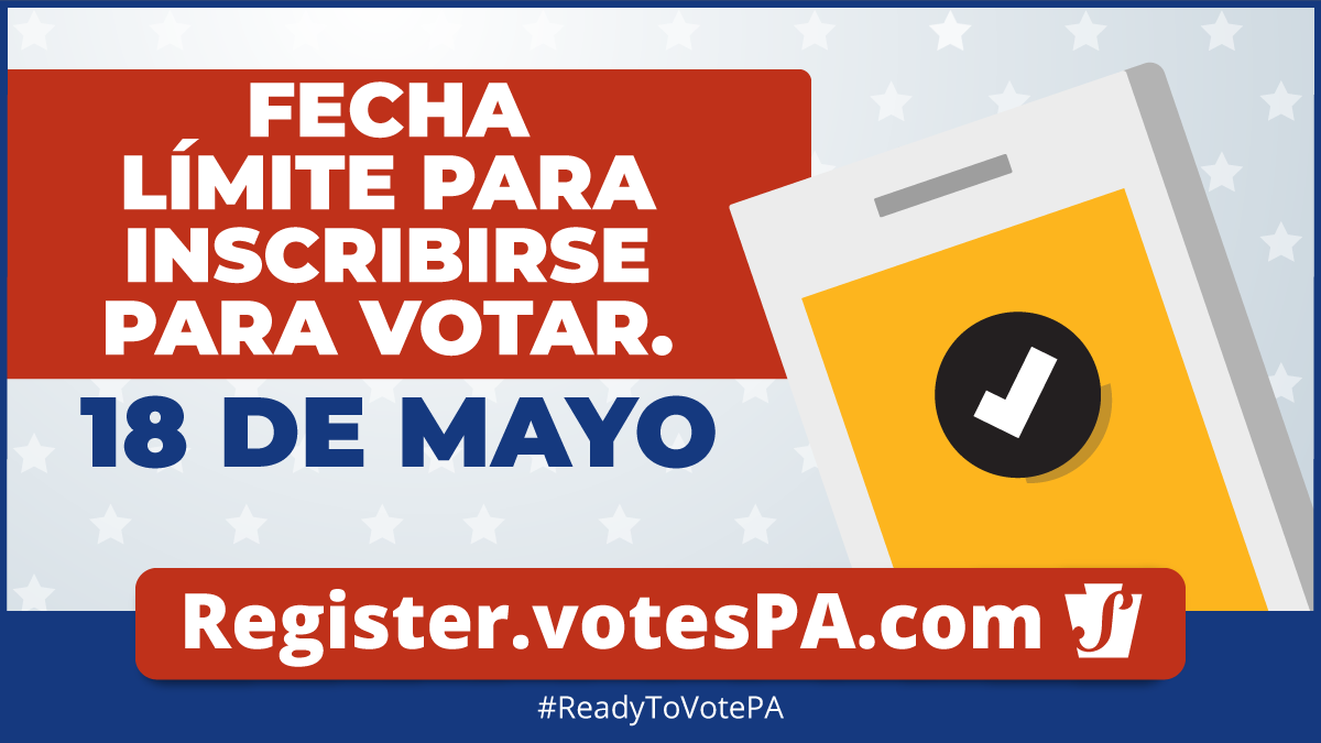 voter registration deadline primary in spanish